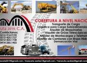 Camión con Brazo Hidráulico Transruta 2019, CA